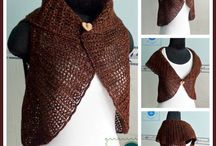 crochet shawls , etc / shawls and things to keep warm
