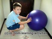 Ćwiczenia sensoryczne gimnastyka