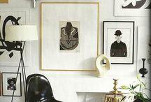 WALL ART / Paintings, drawings, sculptures, panels, maps, masks etc