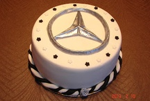 Fondant Mercedes cake