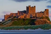 Northumbrian Castles / Castles in Northumberland, UK
