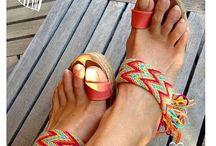 Papuci crosetati