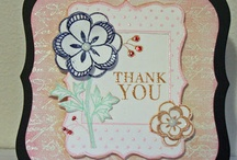 Card Making - Thank You