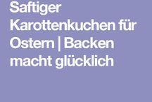 Backen / kochen