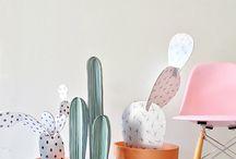 Fake cactus