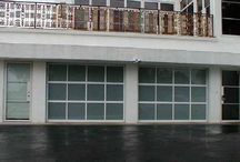 Glass Garage Doors - bp-350 / BP-350 doors are a great addition to any home or for commercial use. These doors are often used as single car garage doors or double car garage doors.
