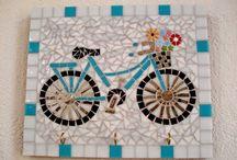 mosaic fiets