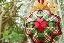 Quilted Ornaments / by Angela Tapiero-Rivera