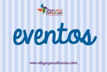 Brincar em eventos / Sugestões de qualidade e diferenciadoras adequadas aos convidados mais pequenos