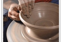 Inspirations - Pottery Studio / Inspirations for settings and studio arrangements for potters and other mudders / by Sharon Hutson Hurricane Pottery