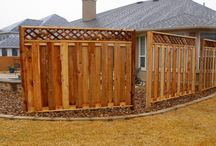 Work on the yard / Gates and other items for the backyard