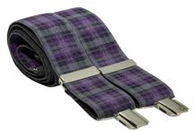 Tartan Mens Accessories  - Love Them / Tartan accessories for men including toruser braces, bow ties and ties