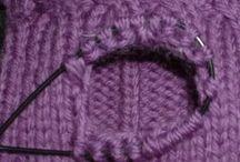 trik na pletení palce u rukavic - s pomocnou přízí