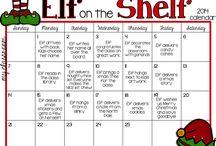 Elf on the shelf / Elf ideas for last month of school
