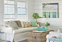 White cottage interiors