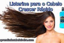 Listerine para cabelo crescer