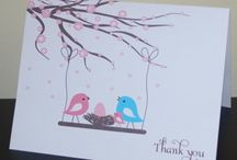 Thank you cards / by Chieu Lee