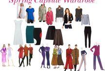 Spring Wardrobe Inspirations / by Christine Jonson Patterns