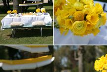 Wishbone Day Party Ideas / Some bright Wishbone Day yellow party ideas to bring your next Wishbone Day party to everyones attention!