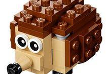 Lego eläimet + rakennukset