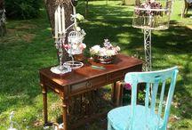 Decoración y alquiler muebles Primera Comunión BOHO CHIC - Decoration and rental furniture BOHO CHIC first communion