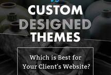 WordPress / WordPress Development WordPress Design Custom Design Themes Prebuilt Themes Responsive Design