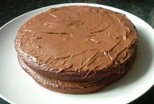 slimming world chocolate cake with nutella on top