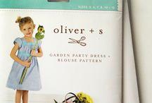 Oliver + S Patterns in my stash