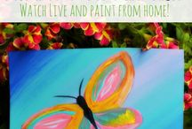 paint night for kids