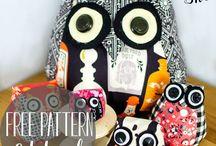 Fabric Crafts / Fabric Crafting Tutuorials. No Sew projects and Sewing tutorials and projects - beginner sewing tutorials, accessories, quick sewing projects, clothing, home projects, holiday sewing