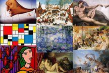 Festők és képeik