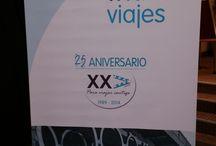 XXV Aniversario Triana Viajes / El 13 de diciembre de 2014 tuvo lugar el XXV Aniversario de Triana Viajes que tuvo lugar en el Hotel Hesperia Sevilla. Os dejamos algunas imágenes de dicho evento.
