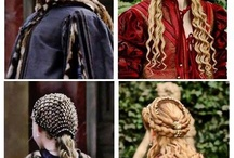 medieval reinassence hair inspiration