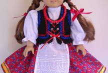 "020 Folk Costumes for 18in Dolls / Folk costumes & outfits from around the world for 18"" dolls."