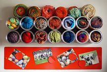 That's Pinteresting - Organize your Yarn Stash  / Display ands Organization ideas for Fibre Artists.... / by The Crochet Crowd