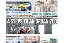 Organizing / How to keep my house organized in a short time