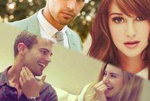 Shailene Woodley ♡ Theo James ♡ Ansel Elgort