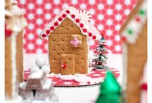 Gingerbread house party / by Kristen Bachmeier