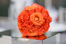 Orange Wedding Flowers / by Wedding Flowers, Inc.