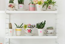 Groendingen binnen - Green inside / Plants inside your home #interior.   Groen in huis #interieur #planten