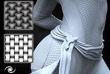Zbrush stuff / textures alphas brushes nanomesh multimesh
