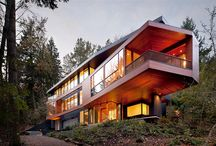 Architecture  / modern houses, exterior and interior inspiration
