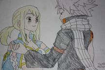 My Fairy Tail Drawings / My anime drawings.