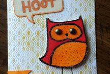 CTMH August 14 What a Hoot SOTM / CTMH stamp of the month use ideas