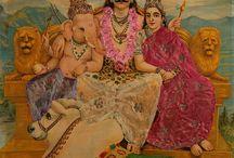 Mythological art, prints, lithograph and calendar art