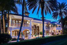 SOLD: 12 Saint George Place / This is an exquisite custom estate with expansive views of the 18th hole of the North Course in the Ballenisles Country Club.