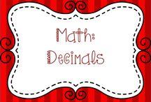 Math:  Decimals