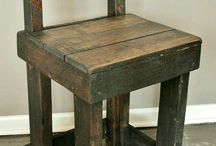 rustic chairs for kitchen island