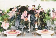 grapes wedding decor