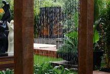 Vann i hagen / Fontene alternativ dusj